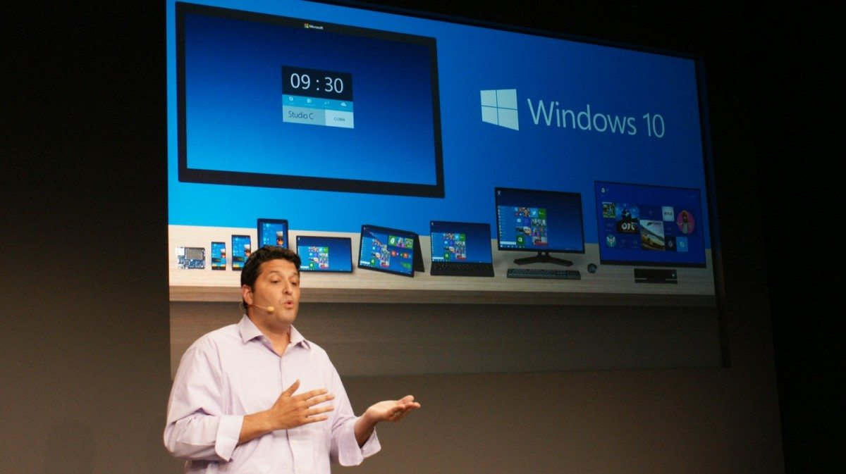 microsoft 10 announcement